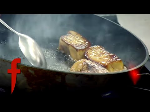 Gordon Ramsay Shows His Chefs How To Make Foie Gras | The F Word