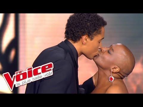 Johnny Hallyday - J'oublierai Ton Nom  Dominique Magloire & Stéphan Rizon The Voice 2012 Demi-Finale