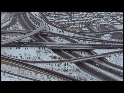 Video: Sky News 13 over February snow storm