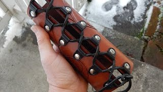 How to make a leather medieval !