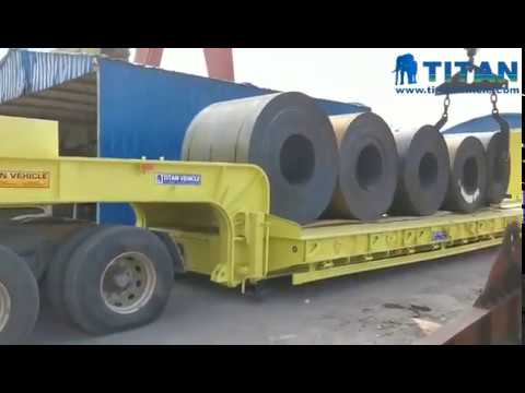 Have You Heard Of A Lowbed Trailer To Transport Up To 150 Tons?
