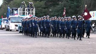 警視庁 機動隊 観閲式 分列行進 review of Tokyo M.P.D. riot police 2011