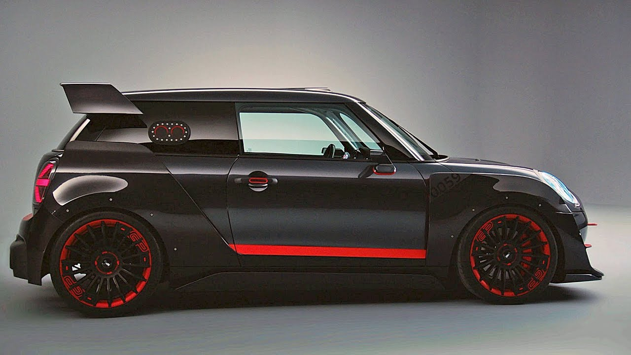 mini john cooper works gp concept - youtube