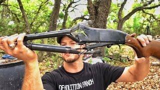 Выстрел из переполненного дробью ружья | Разрушительное ранчо | Перевод Zёбры
