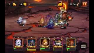Heroes Charge: Defeating Burning Phoenix Outland Portal Difficulty 6 (Level 90)