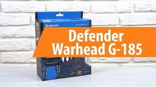 Распаковка Defender Warhead G-185 / Unboxing Defender Warhead G-185