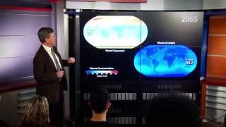 Dr. Paul Newman, chief scientist for atmospheric sciences at NASA's...
