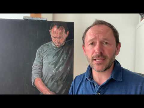 How to Paint a Portrait in 4 hours with Greg Mason