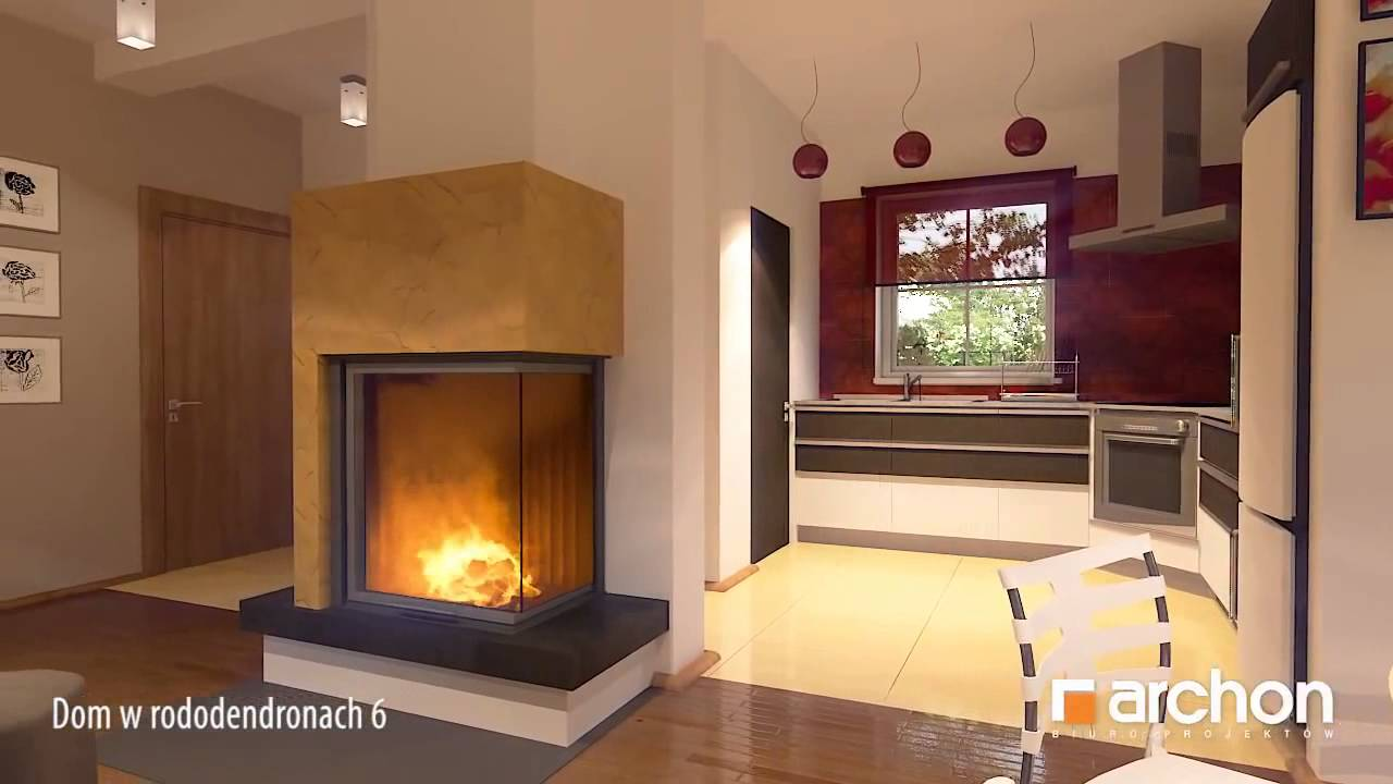 House in the rhododendrons 6 3d interior virtual for Virtual home walkthrough