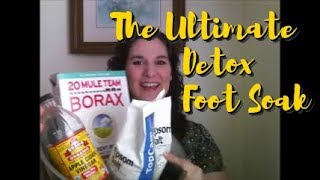 The Ultimate Detox Foot Soak - Get Rid of Inflammation Now!