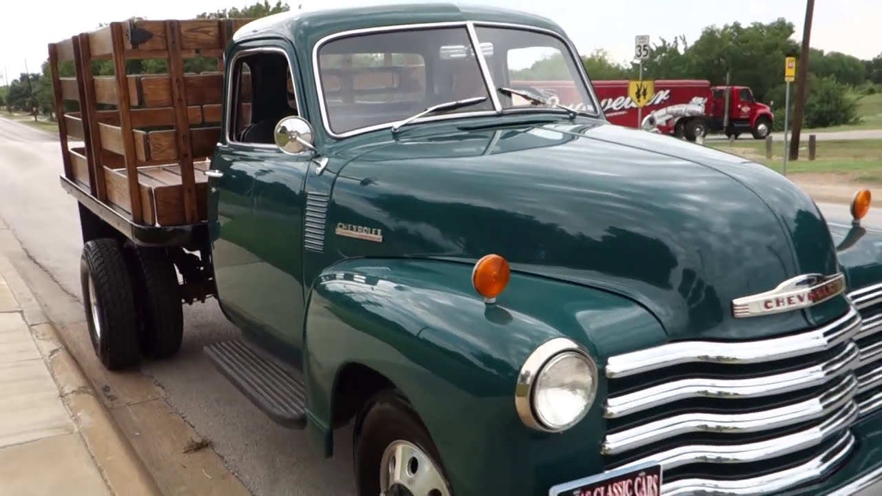 1948 Chevrolet 3800 Series Stake Bed Truck Youtube