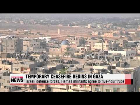 Temporary ceasefire between Israel, Hamas begins in Gaza