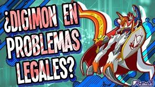 Digimon Noticias: ¿Problemas legales?