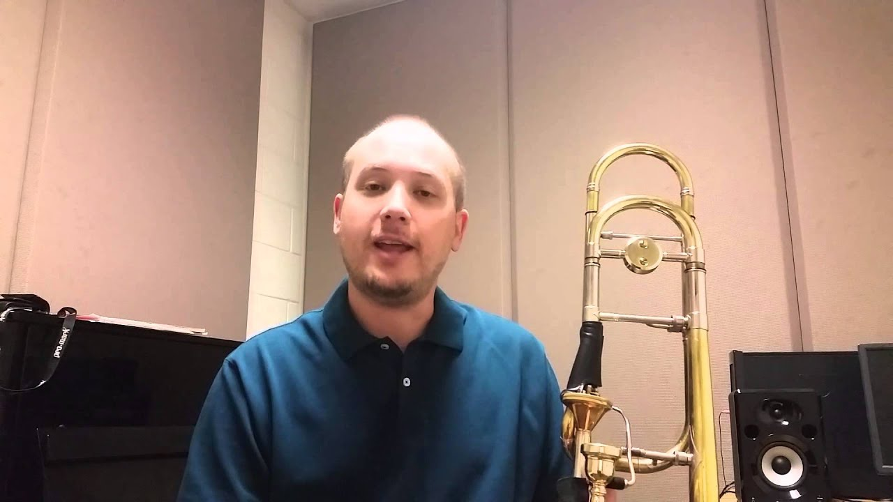 Trombone VLog #1 - Tuning your F Attachment