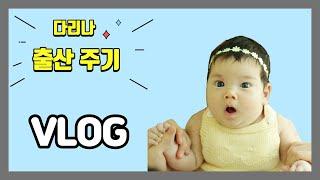 [육아브이로그]vlog 외국인여성의 임신한 모습 배가 …