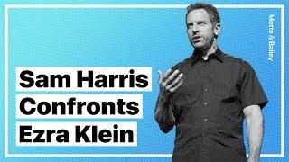 Sam Harris Confronts Ezra Klein on IQ Lies and Ideological Bias