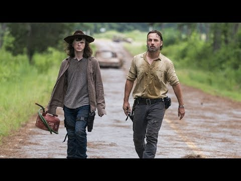 The Walking Dead Carl Death Scene