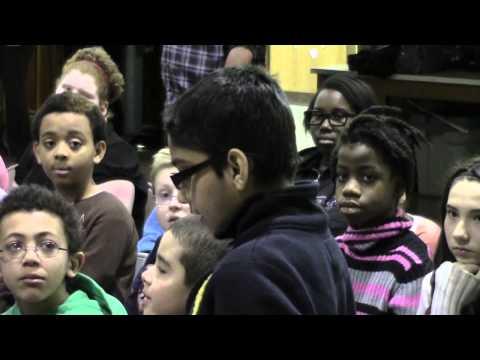 Mayor Kelly Yaede Visits Kuser School