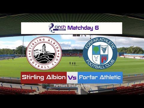 Stirling Forfar Goals And Highlights