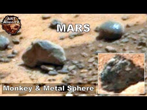 Mars Monkey & Metal Sphere - NASA Balls Up ? ArtAlienTV