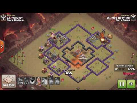 Clash of Clans TH8 Dragon Rider (Hogon) 3 STAR ATTACK