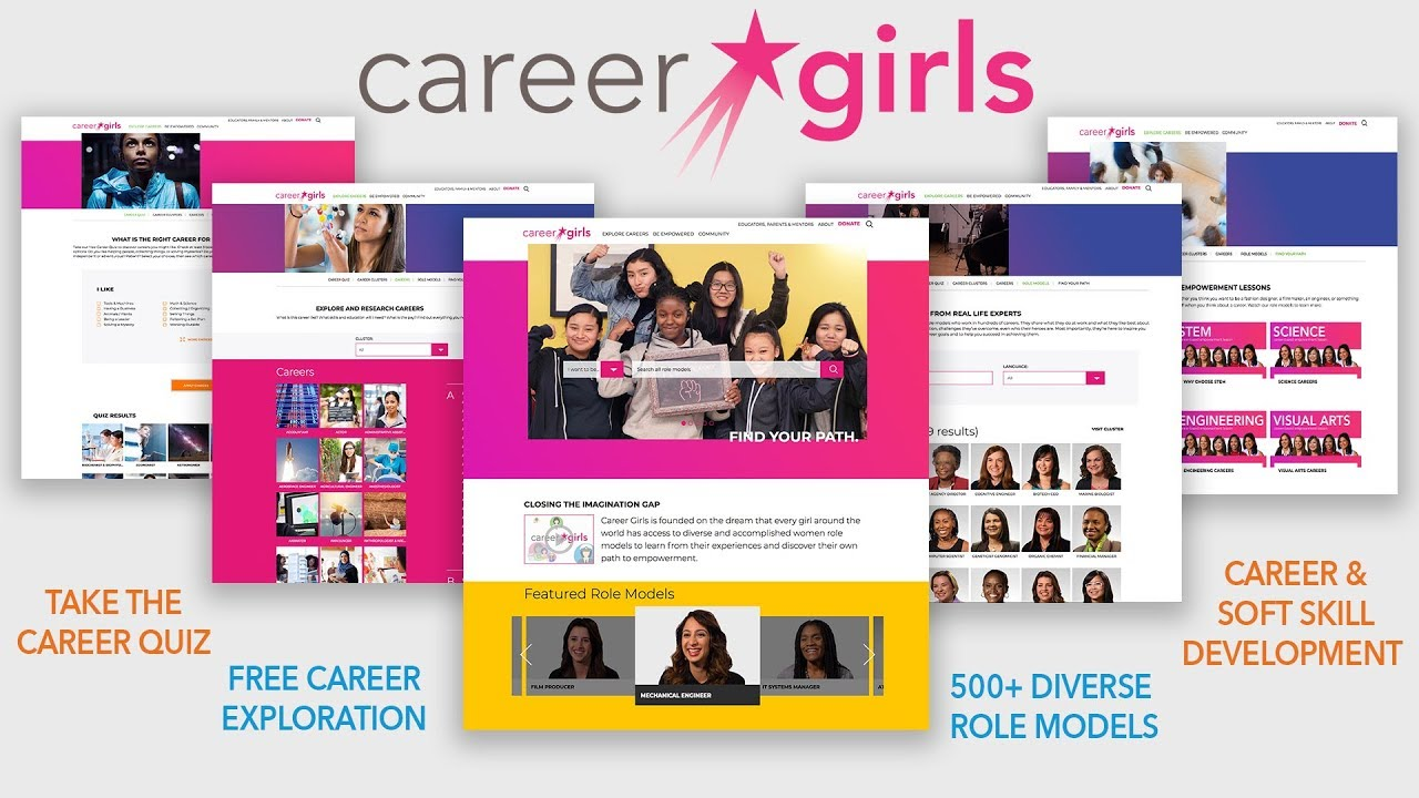 Career Girls | Inspirational Women Role Models Career
