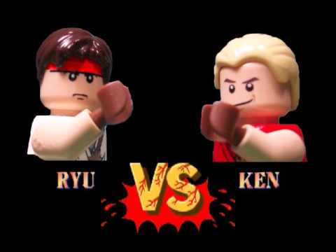 Lego Street Fighter II