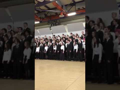 """Vermont All-State Chorus 2017 """"Bridge Over Troubled Water"""""""