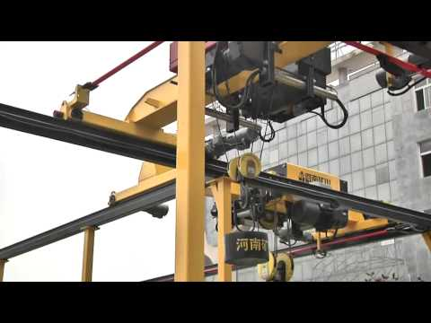 HD Single Girder Overhead Crane—HeNan Mine(Kuangshan) Crane