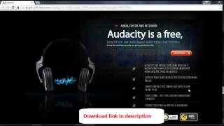 Download Audacity - Free Full Video Editing Software