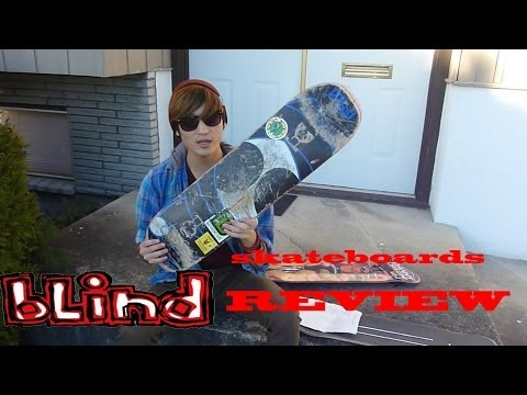 BLIND SKATEBOARDS DECK REVIEW! (Dwindle Distribution Review)