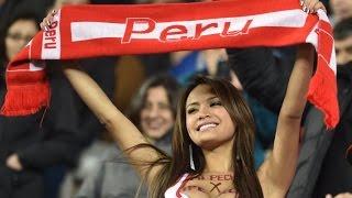 Болельщица  сборной Перу - Копа Америка 2015 #Like