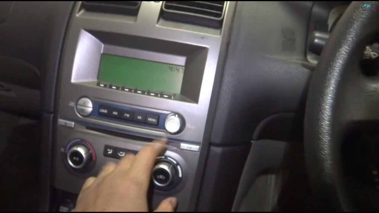 Auxiliary Input Bluetooth Installation Ford Falcon Mobile