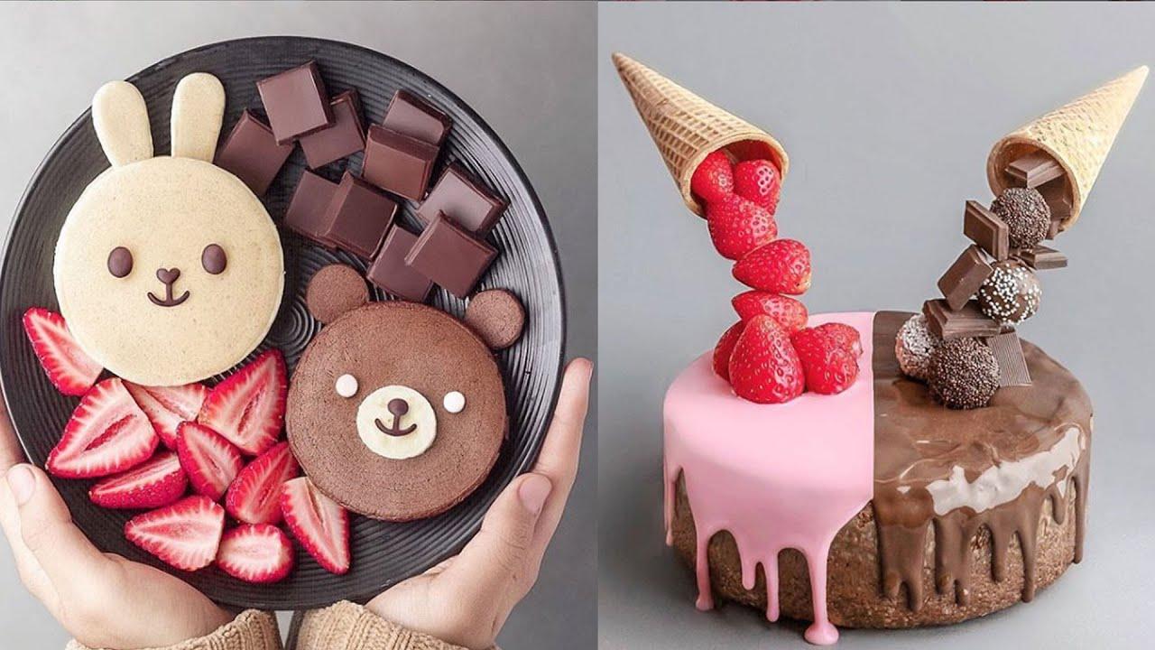 BEST Chocolate Cake Decorating | Birthday Cake Ideas Compilation | Birthday Cake For Family