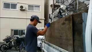 放置自転車の無料撤去はヤマトヤサイクル事業部 http://yamatoyacycle.com/