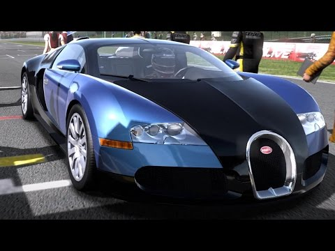 Need for Speed: Shift - Bugatti Veyron 16.4 - Test Drive Gameplay (HD) [1080p60FPS]