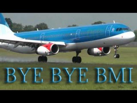 BMI LAST EVER FLIGHT!!