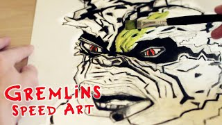 Gremlins 30th Anniversary Speed Painting