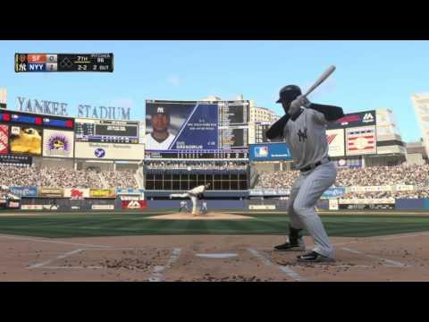 MLB 16 The Show - No Hitter with Masahiro Tanaka (final 3 innings)