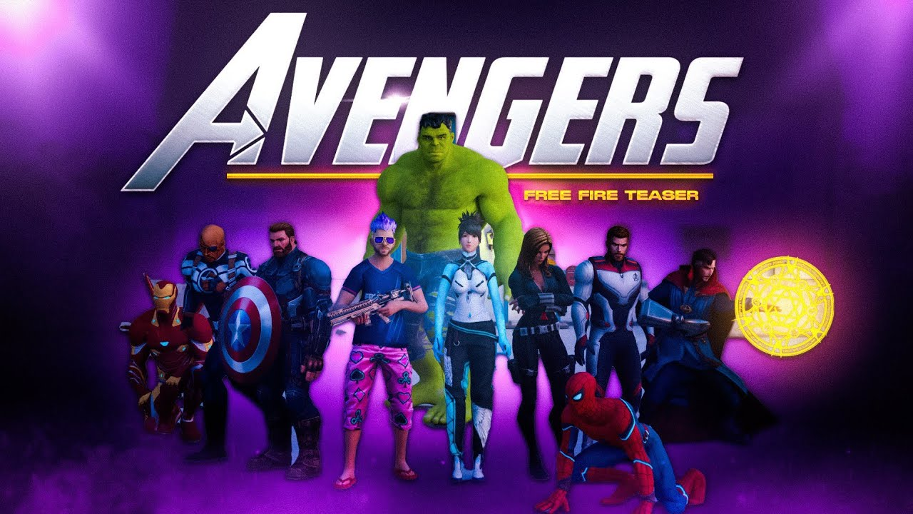 AVENGERS Freefire 3D TEASER🔥 3D ANIMATION MONTAGE FREE FIRE MAX ❤️ Edited by GODS OF GARENA