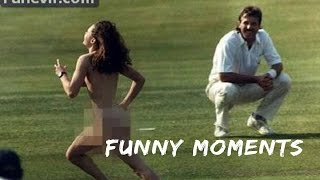 TOP FUNNIEST MOMENTS IN CRICKET - HILARIOUS!!