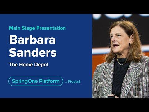 Barbara Sanders at SpringOne Platform 2019