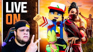 LIVESTREAM:  MINECRAFT & FORTNITE HOJE | AM3NlC