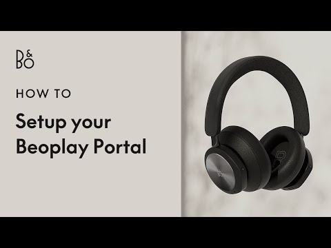Beoplay Portal - Wireless Gaming Headphones. | Bang & Olufsen
