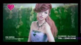 ENVI Bridal Print Photo AD 2012 - the Making of Video (China Super Girl Kingboo)