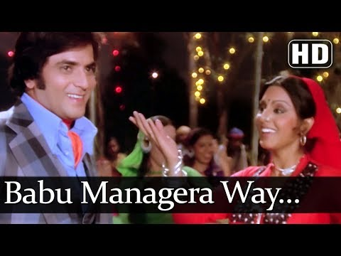 Babu Managera Way (HD) - Aatish Songs - Jeetendra - Neetu Singh - Bollywood Songs