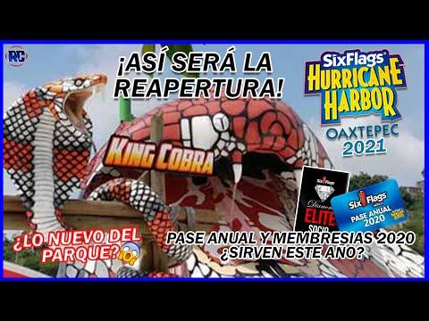 Así será la reapertura de SIX FLAGS HURRICANE HARBOR OX 2021  PREGUNTAS Y RESPUESTAS