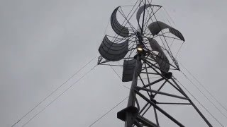 Ветрогенератор вертикальный 1кВт изготовитель компания New Energy(Ветрогенератор вертикальный от компании Новая Энергия Перейти ко всем товарам компании http://newenergy.com.ua/..., 2016-05-19T11:56:25.000Z)