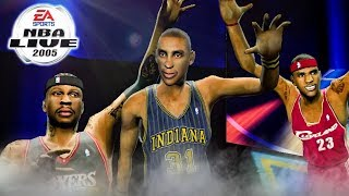 NBA LIVE 2005 🏀3-Point Contest Challenge!!! NBA Live 2005 HD in 2018!!! THROWBACK THURSDAY