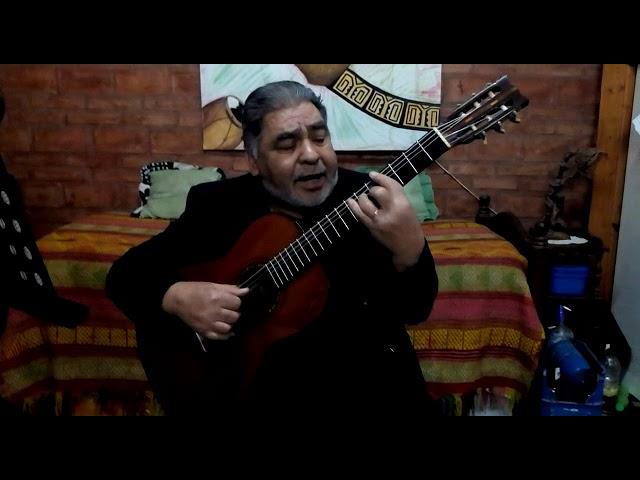 Chingolo Suárez le canta a la UNSE en su aniversario